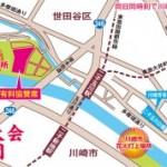 多摩川花火大会の知る人ぞ知る穴場は久地駅から!二子新地や二子玉川は大混雑だ!